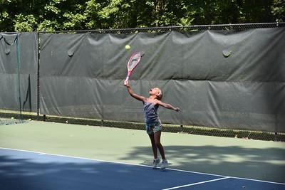 170712 10U Tennis Matches @ Highland