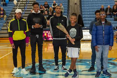 2019-02-09 -- Twinsburg Girls Varsity Basketball vs Jackson Girls Varsity Basketball & Senior Night