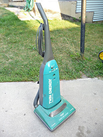 Sharp vacuum cleaner, in working condition.  $5