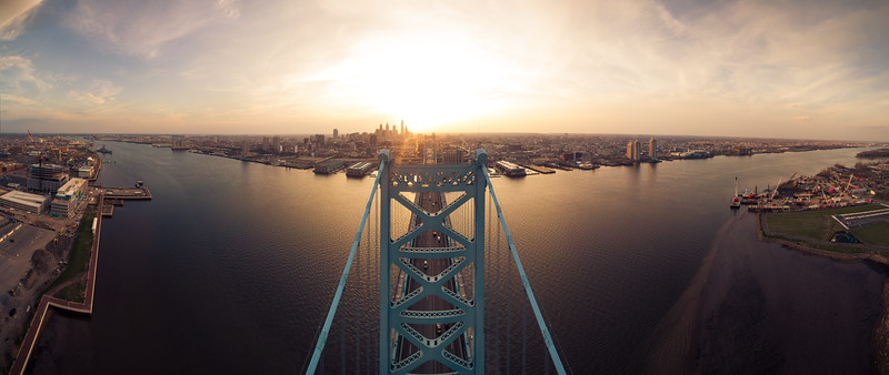 Philadelphia Over The Ben Sunset-.jpg