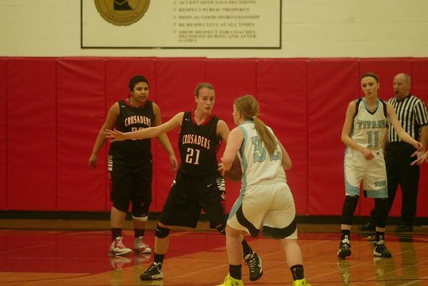 Mayer Lutheran girls basketball
