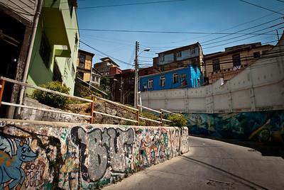 Valparaiso - Graffiti Art