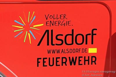 Übung Feuerwehr Alsdorf