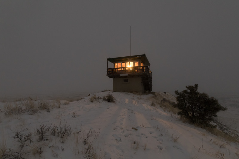 Diamond Butte Fire Lookout