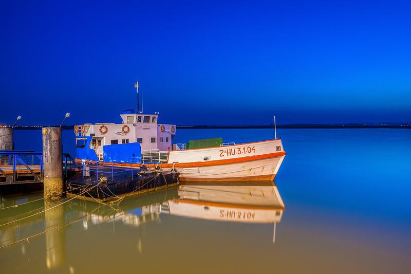 Virgen de los Milagros ferry boat, Ayamonte, Spain