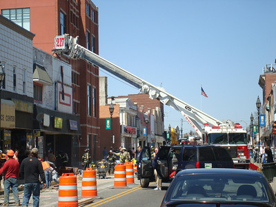 Building Fire 4-16-08