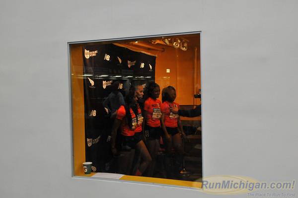 Girls' 4x400 Relay, Michigan Only - 2014 NB Indoor Nationals