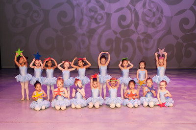 Sunday Performance - Group photos of younger classes