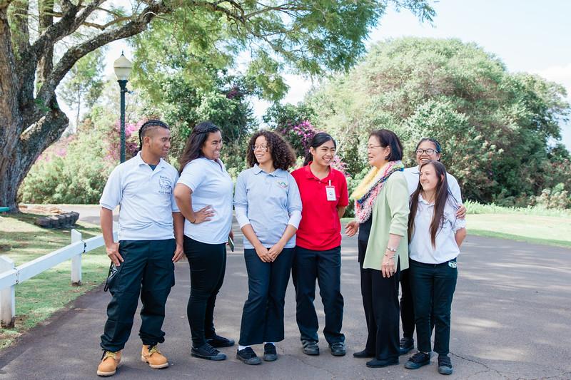Mazie Hirono Visits Maui Job Corps
