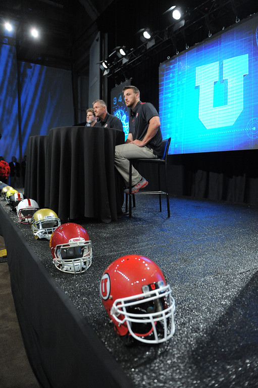 . Pac12 media Day at Sony Studios.  Photo by Brad Graverson 7-26-13