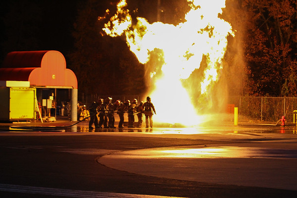 Connecticut Fire Academy recruit training 10/26/15