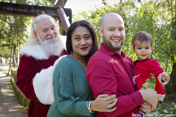 Santa 2019: Lily, Jake, and Sharlene