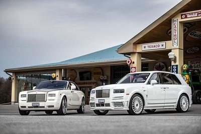 Rolls Royce Cullinan & Drophead