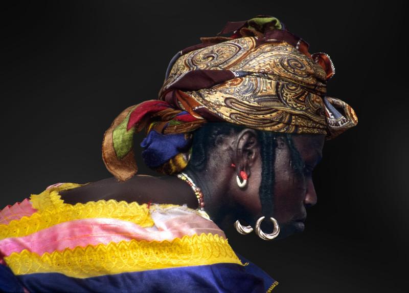 FULANI LADY - GOROM GOROM, BURKINA FASO