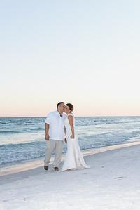 Beth & Tony - Frangista Beach