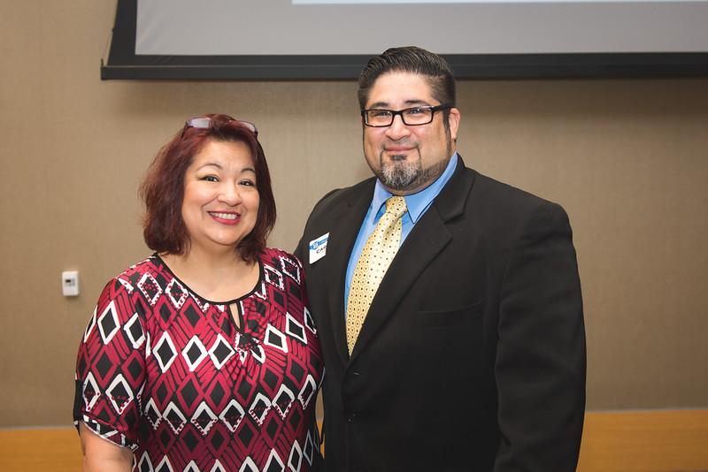 Janie and Carlos Garanzuay.