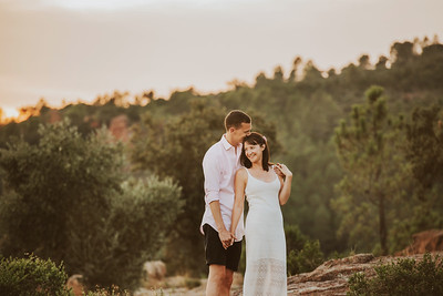Sophie and Phil Pre Wed Provence