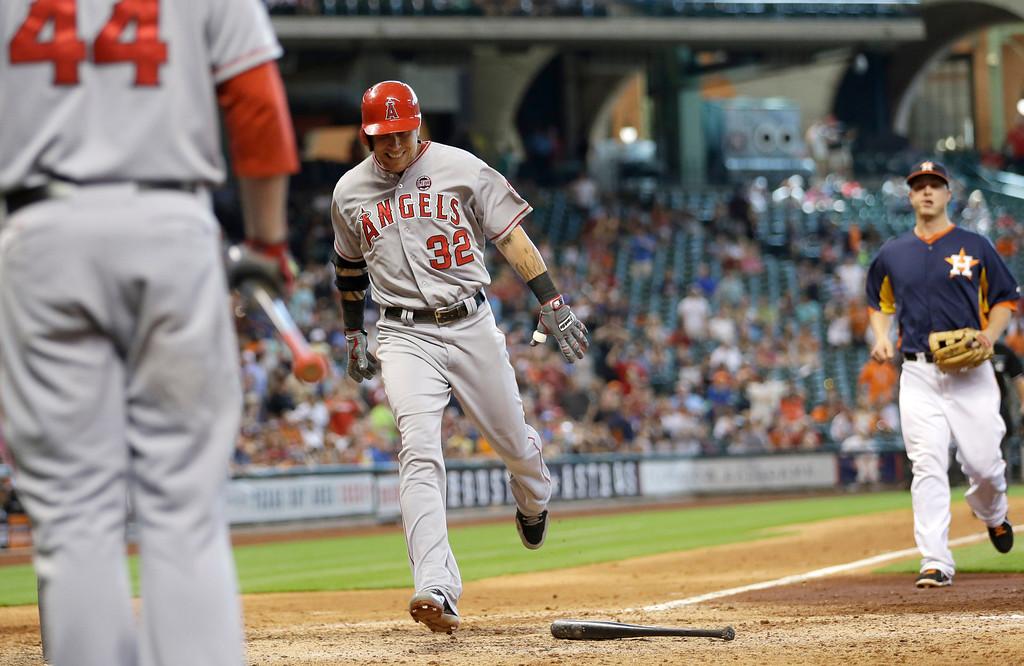 . JUNE 30: Hamilton had an RBI double, walked twice and scored once as the Angels won 3-1 at Houston to finish their road trip 6-0. (AP Photo/David J. Phillip)