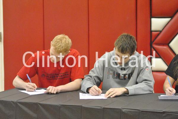 Fulton Athletics Signing Day: 3/27/14