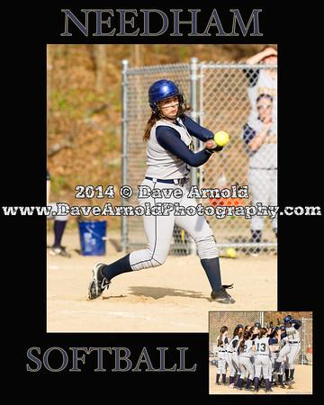 5/7/2014 - Varsity Softball - Brookline vs Needham