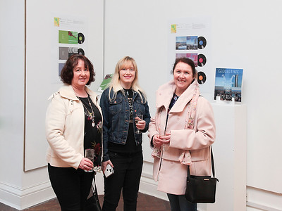 WIT 3rd Year Graphic Design Students first Show in Garter Lane Waterford 19 03 2019