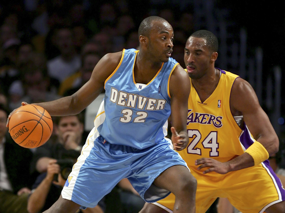 . Worst � 3. Julius Hodge Hodge was the 20th pick in the 2005 draft after playing all four of his college years at North Carolina State and becoming the ACC Player of the Year in 2004. He played a total of 18 games for the Nuggets, averaging 1.1 points per game.  Julius Hodge #32 of the Denver Nuggets drives to the basket against Kobe Bryant #24 of the Los Angeles Lakers on January 5, 2007 at Staples Center in Los Angeles, California. (Photo by Lisa Blumenfeld/Getty Images)