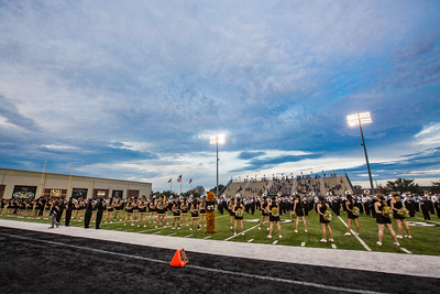 Rickards Raiders at Bentonville Tigers Football - 09/18/2015