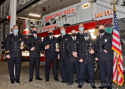 Avon Firefighter Inauguration 2021