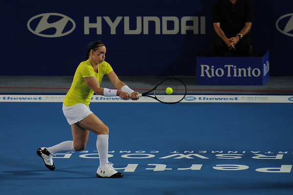 Hopman Cup January 2012 Denmark vs USA