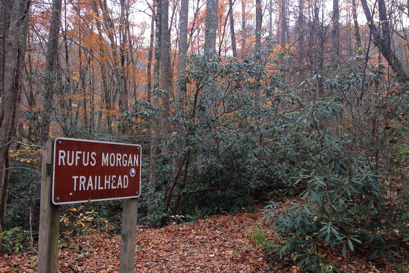 Rufus Morgan Falls Trailhead