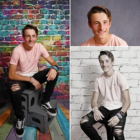 High School Seniors Studio Portraits