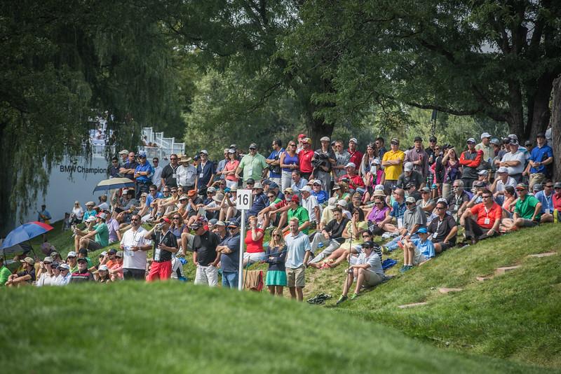 2014 BMW Chanpionship at Cherry Hills CC on Saturday Sept. 6, 2014. (WGA/Charles Cherney)