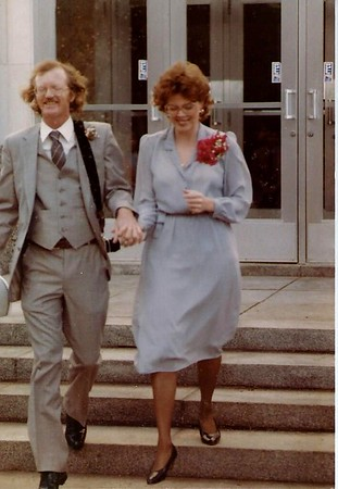 1983 Dan and Ruby Marriage Pics