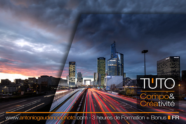 "TUTORIEL  ""Composition & Créativité"" Lightroom & Photoshop"