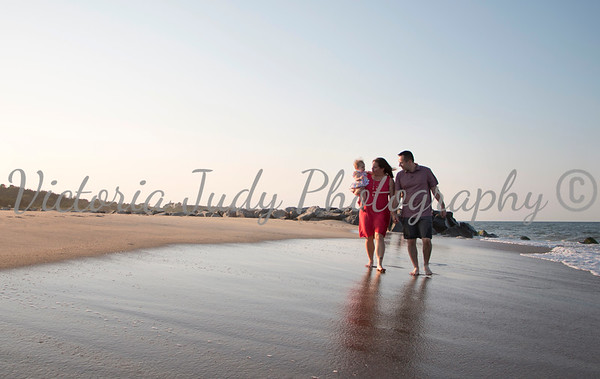 R Family Beach Portrait Session - July 2019