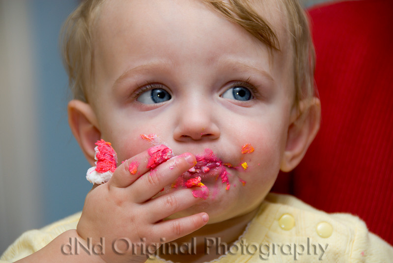 024 Brielle(1) & Ian(2) Birthday Party - Brielle Eats Her Cake.jpg
