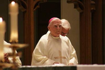 Bishop Mulvee Anniversary Mass