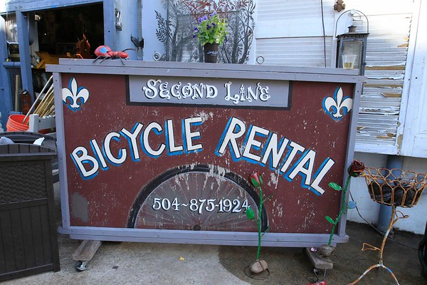 SECOND LINE  BIKE RENTAL