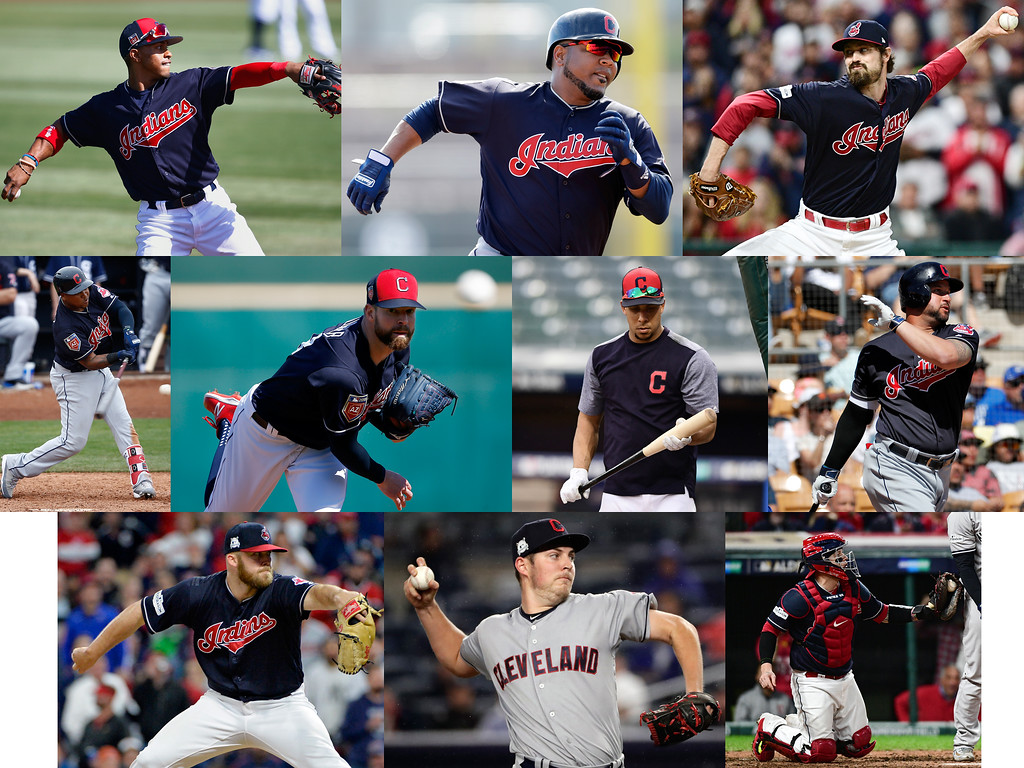 . The Indians begin their quest of a World Series championship in their 2018 season opener on March 29 in Seattle. Here is a look at the 10 players who are most important for the Tribe to make the quest a success and end a drought that has now reached 70 years. (Associated Press file photos)