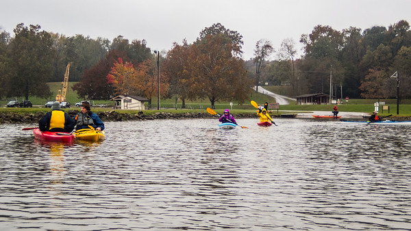 Fall Kayak Camping
