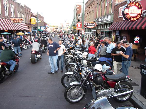 Bike Night -  Beale Street 2012