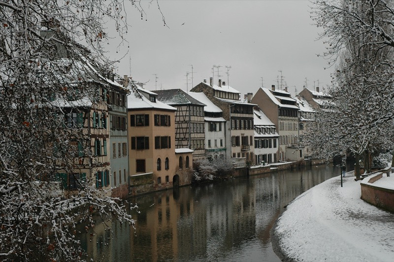 Strasbourg in Winter - France