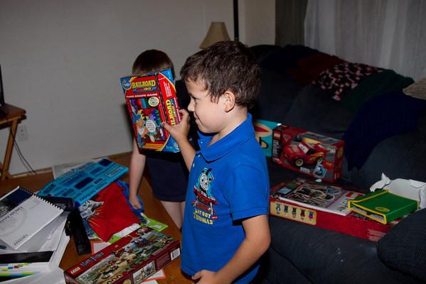 Evan's 8th Birthday - 2011
