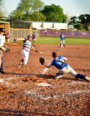 Lady Tigers vs Daingerfield Lady Tigers 4/22/2016