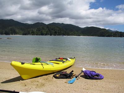 Abel Tasman Sea Kayaking, 23 December 2012