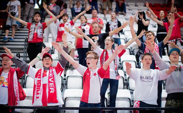 4.semifinále: Slavia - Benago 7:12