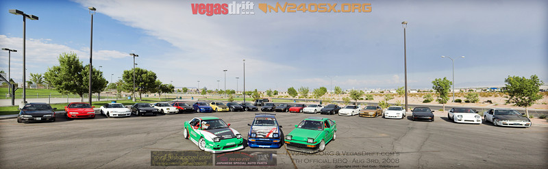 7th Official NV240SX.ORG BBQ with VegasDrift.com