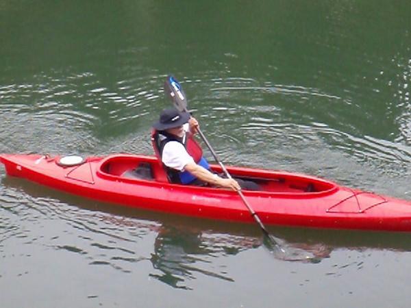 Kayak Lesson 5.31.2010