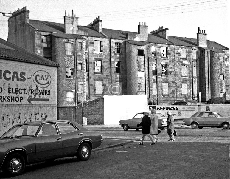 March St. at Nithsdale St. 