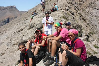 Ha Ling Peak 2009, scouts du Québec